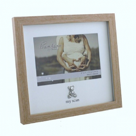 Wooden Surround 'My Scan' Photo Frame
